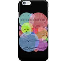 Techy Circles iPhone Case/Skin