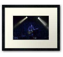 Charles Jenkins - TRON Style Framed Print