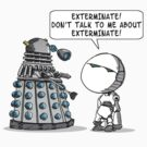 Dalek Adams by ToneCartoons