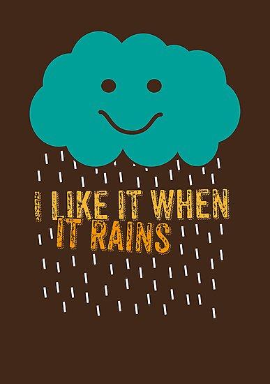 I like it when it rains by Naf4d