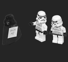STORMTROOPERS KICK ME STAR WARS   by BackInTime