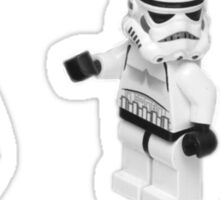 STORMTROOPERS KICK ME STAR WARS   Sticker