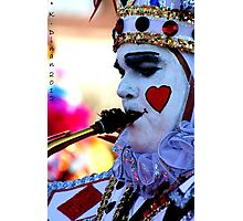 King of Hearts Photographic Print