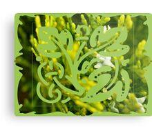 cypress bush Metal Print