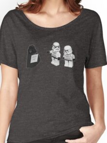 STORMTROOPERS KICK ME STAR WARS   Women's Relaxed Fit T-Shirt