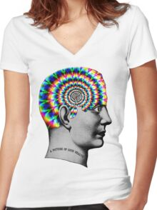 Mentality Women's Fitted V-Neck T-Shirt