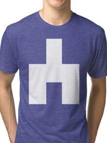 Black Mirror - White Bear Tri-blend T-Shirt