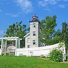 Old Sodus Point Light by Jack Ryan