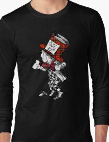 Scottish Mad Hatter T-Shirt Long Sleeve T-Shirt