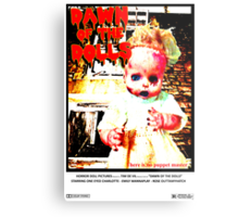 Dawn of the Dolls - Charlotte Metal Print