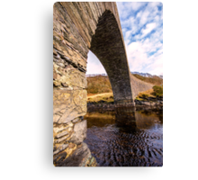 Bridge over the Atlantic Canvas Print