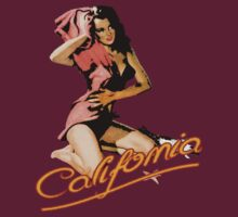 Pinup Girl California by MrJamma