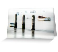 Three Posts Greeting Card