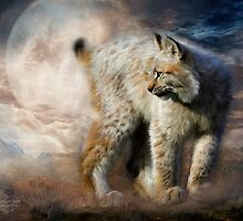 Lynx - Silent Spirit by Carol  Cavalaris