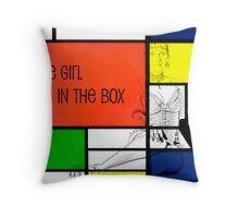 The Girt in the Box Throw Pillow