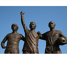 Best, Law & Charlton by footypix