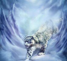 Snow Leopard - Snow Spirit by Carol  Cavalaris