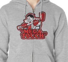 mega touch Zipped Hoodie