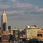 Empire State Building / Standard Hotel - NYC by Joel Raskin