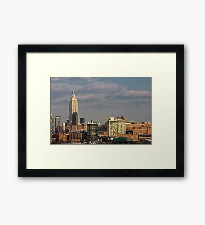 Empire State Building / Standard Hotel - NYC Framed Print