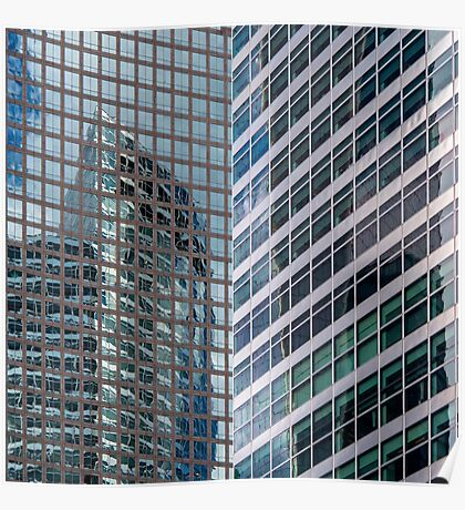World Financial Center Reflections - NYC Poster