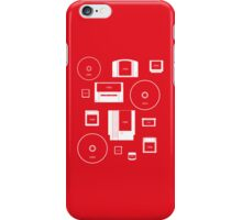 History of Nintendo Media 1989-2012 (iPhone case Red) iPhone Case/Skin