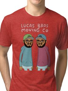 Lucas Bros Moving Co Tri-blend T-Shirt
