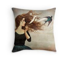 The Little Thief Throw Pillow