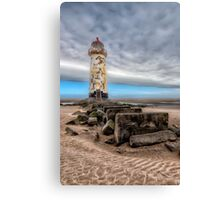 Lighthouse Steps Canvas Print
