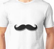 basic mustache Unisex T-Shirt