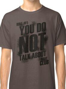 Fight Club - Rule #1 Classic T-Shirt