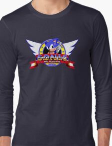 SONIC TITLE SCREEN Long Sleeve T-Shirt