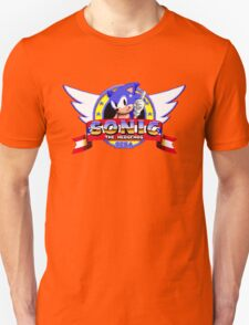 SONIC TITLE SCREEN Unisex T-Shirt