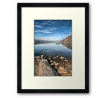 Llanberis Lake Framed Print