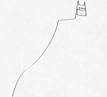 One Line Batman by quibe