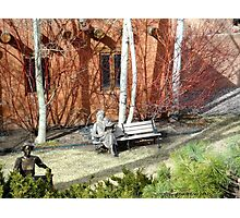 Canyon Road Whimsy, Santa Fe Photographic Print