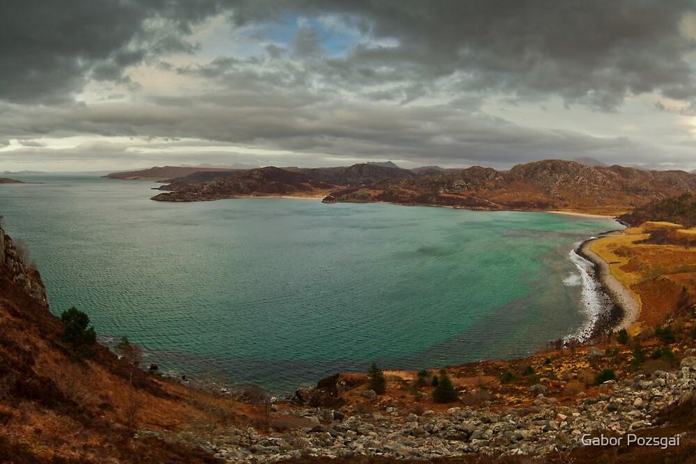 View at the Gruinard Bay, Scotland by Gabor Pozsgai
