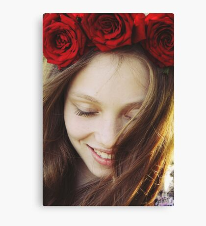Rose crown Canvas Print