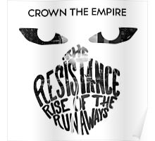 Crown the Empire Typography Poster