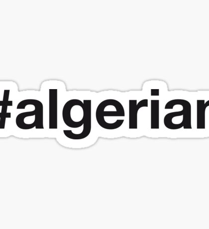 ALGERIAN Sticker