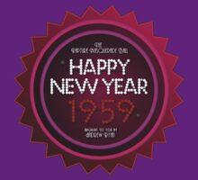Happy New Year 1959! by OCD Gamer Retro Gaming Art & Clothing