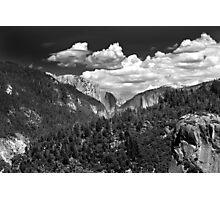 El Cap & Half Dome  Photographic Print
