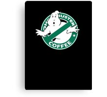 Ghostbusters Coffee Canvas Print