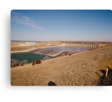 Fort Randall Dam Canvas Print