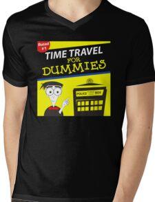 Time Travel For Dummies Mens V-Neck T-Shirt