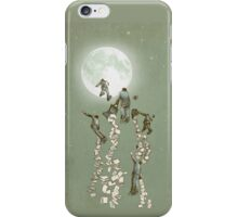 Flight of the Salary Men (color option) iPhone Case/Skin