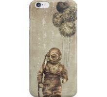 Balloon Fish (Sepia) iPhone Case/Skin