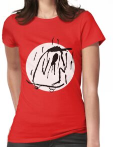 Sad Penguin Full Womens Fitted T-Shirt