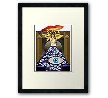 Theda da Framed Print