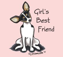 Rat Terrier Girl's Best Friend by offleashart